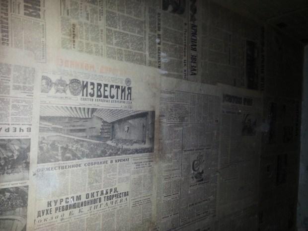 Sowjetische Tapeten